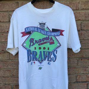 Vintage 1991 Atlanta Braves Tee